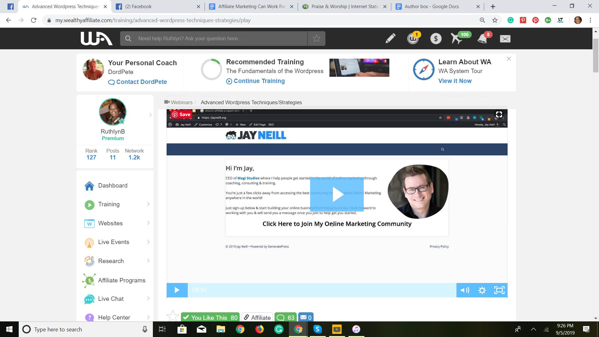 Advanced WordPress techniques