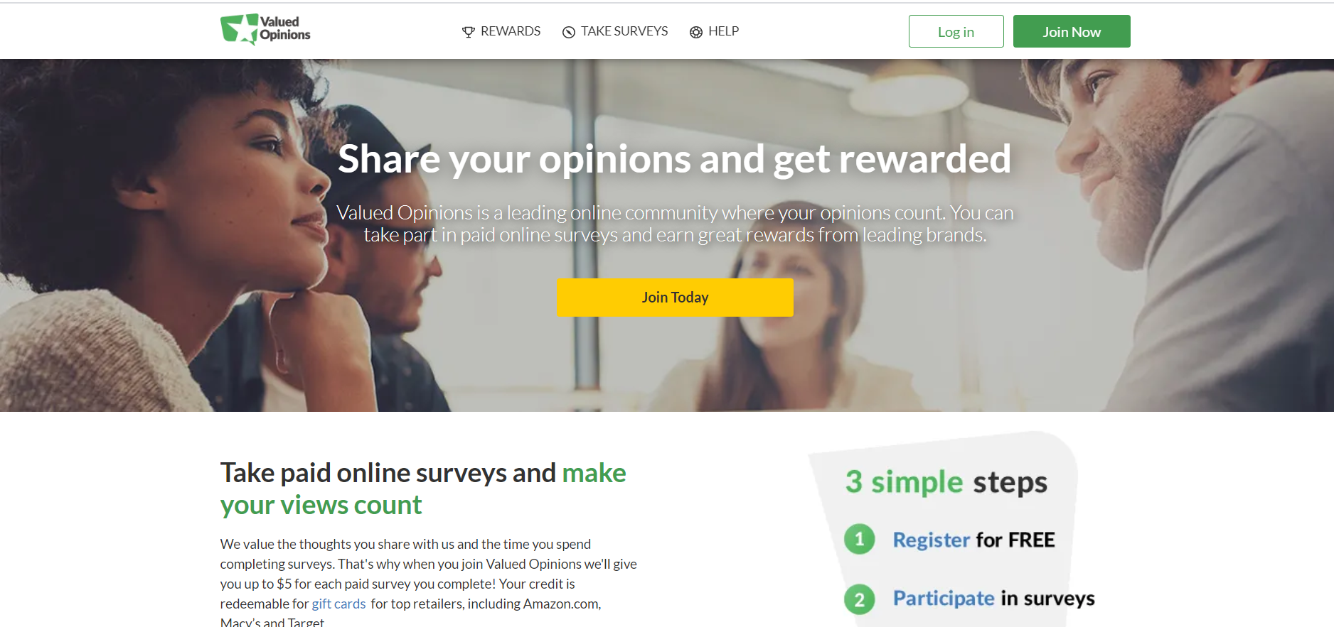 get paid for your opinion