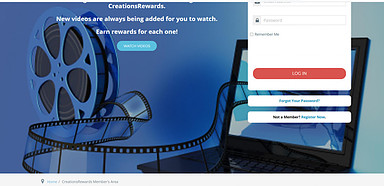 Creation Rewards  Earn Rewards Watching Videos & Exploring Sites