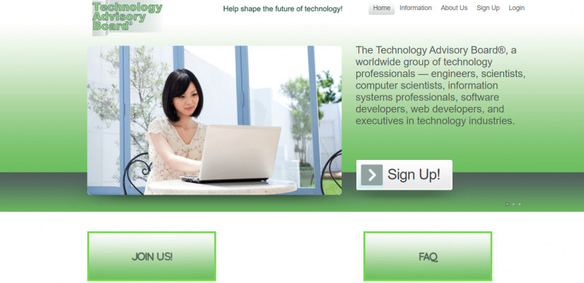 The Technology Advisory Board Survey Review, Legit, earning potential is low