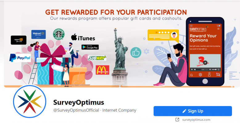 The SurveyOptimus Panel Review Be Rewarded For Participating