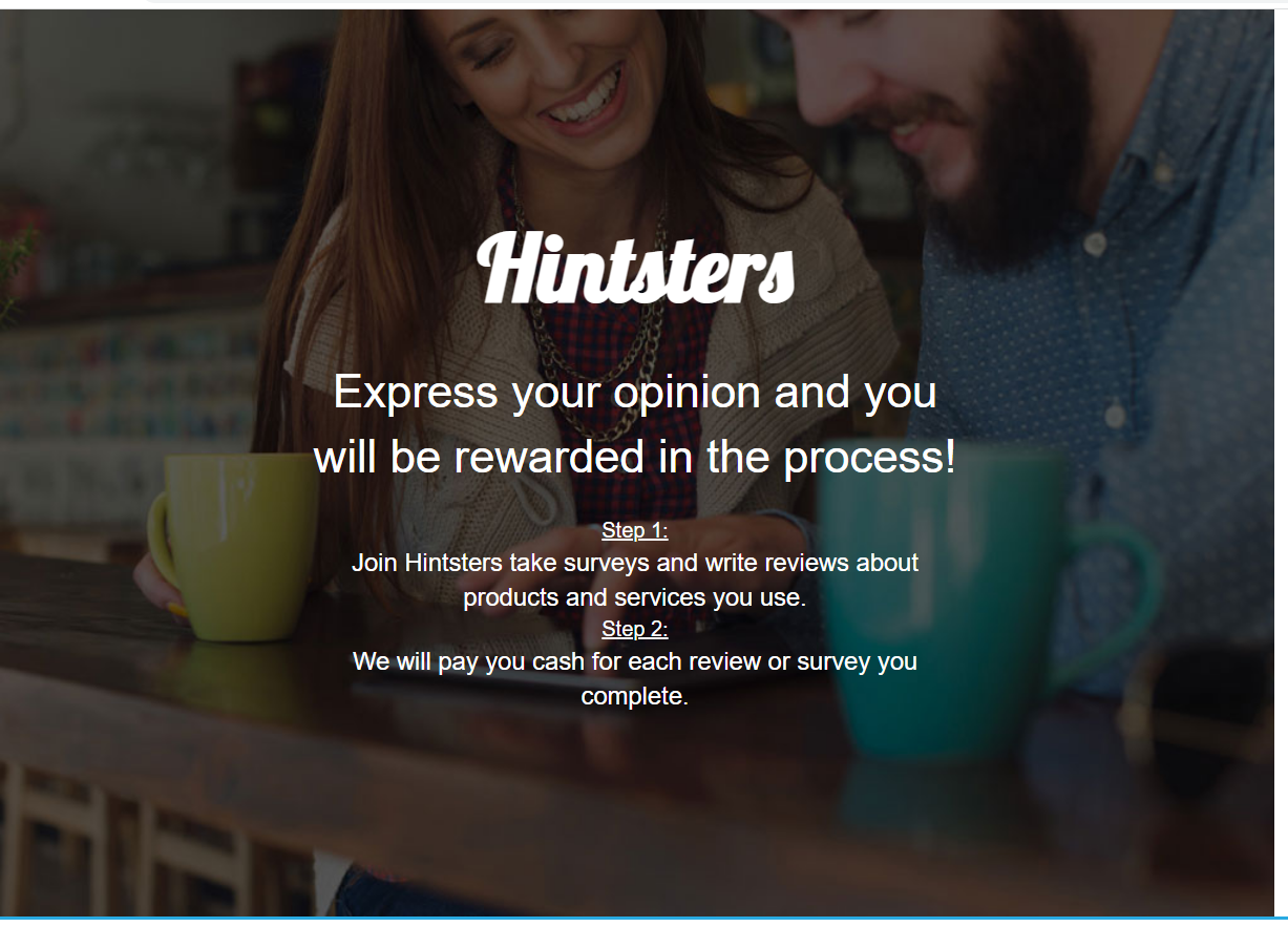Hintsters Review : Make Money Writing Reviews And Doing Surveys.